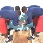 The Water Project: AIC Kyome Girls' Secondary School -  Fetching Water