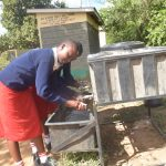 The Water Project: AIC Kyome Girls' Secondary School -  Handwashing