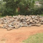 The Water Project: AIC Kyome Girls' Secondary School -  Rocks For Tank