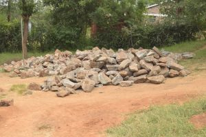 The Water Project:  Rocks For Tank