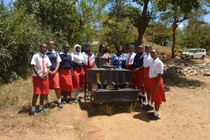 The Water Project:  Students At The New Handwashing Station