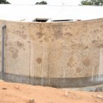 The Water Project: AIC Kyome Girls' Secondary School -  Tank Done Waiting Paint