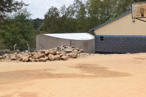 The Water Project:  Tank On School Grounds
