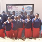 The Water Project: AIC Kyome Girls' Secondary School -  Thumbs Up For The Tank