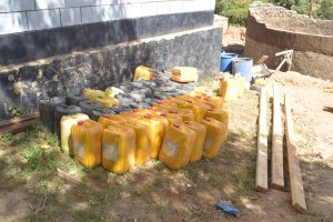 The Water Project:  Water Containers For Construction