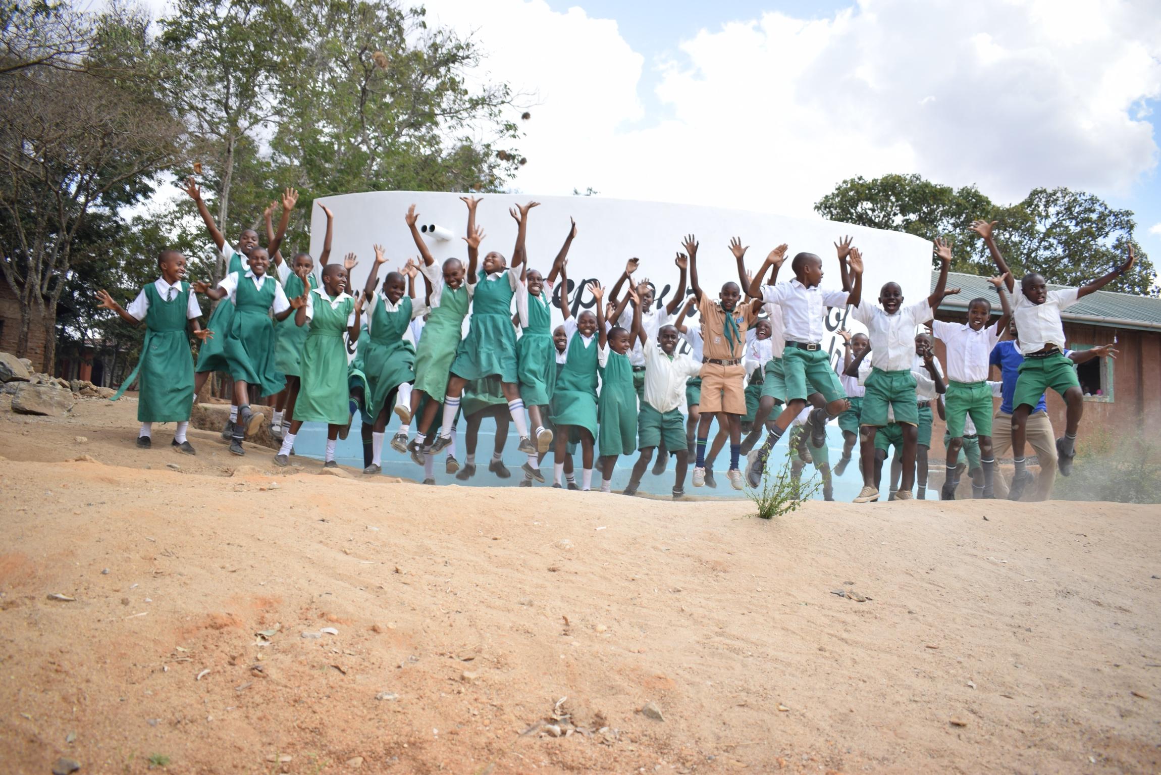 The Water Project : kenya19244-celebration