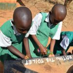 The Water Project: Matiliku Primary School -  Girls Handwashing