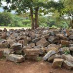 The Water Project: Matiliku Primary School -  Rocks Collected For The Tank