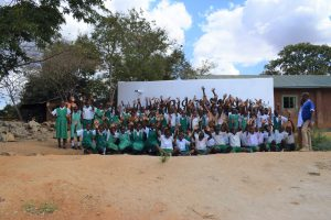 The Water Project:  Students Celebrate At The Tank