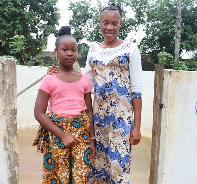 The Water Project : sierraleone18255-rebecca-kamara-and-rosetta-omoh-mambu