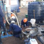 The Water Project: Gbontho Lane, Behind Gbontho Mosque -  Drilling