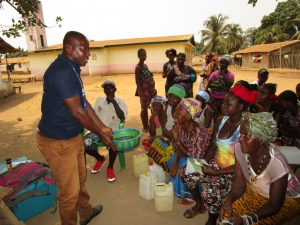 The Water Project:  People Participate In Training