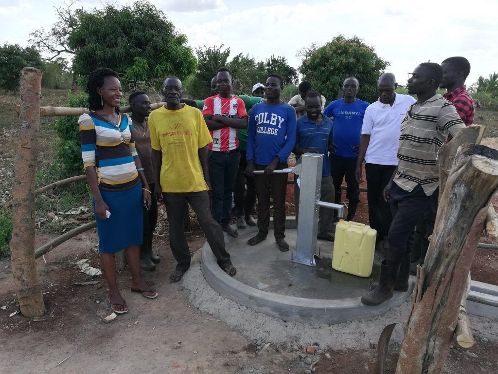 The Water Project : uganda19282-completed-well
