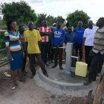 The Water Project: Kikube Nyabubale Community -  Completed Well