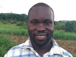 The Water Project:  Mr Godfrey Asiimwe