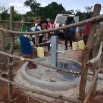 The Water Project: Kikube Nyabubale Community -  Smiles At The Well