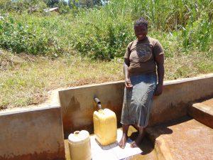 The Water Project:  Maureen Khavetsa
