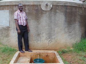 The Water Project:  Mr Lawrence Ambunya