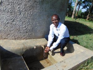 The Water Project:  Mr Joseph Ilavonga