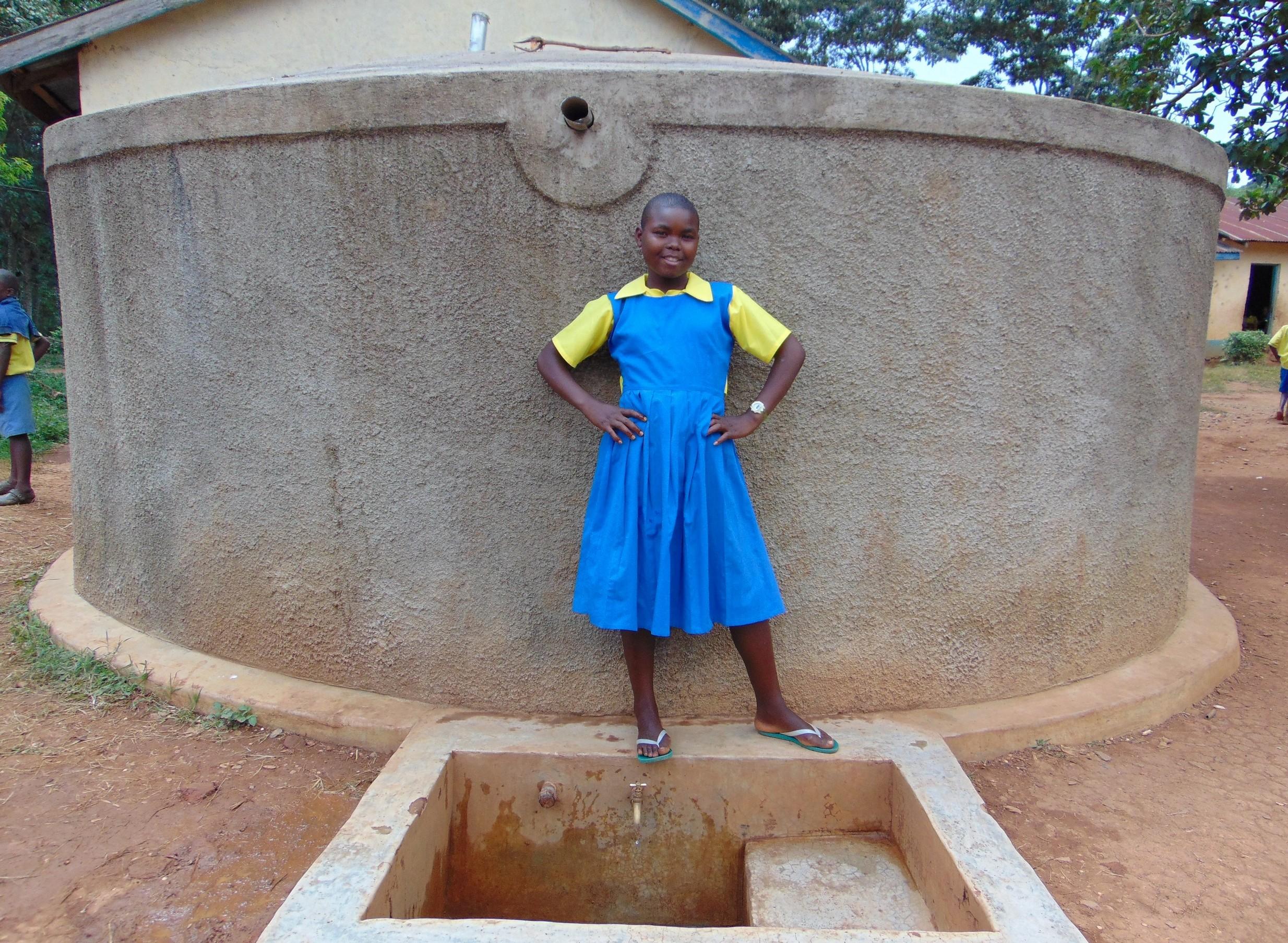 The Water Project : 1-kenya18061-mary-khatenje