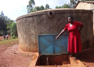 The Water Project:  Deputy Head Teacher Mary Asatsa