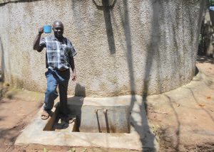 The Water Project:  Deputy Head Teacher Mr Francis Chibole