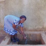 The Water Project: Matsigulu Primary School -  Sanitation Teacher Mrs Beatrice Andare