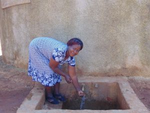 The Water Project:  Sanitation Teacher Mrs Beatrice Andare