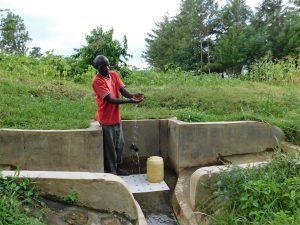 The Water Project:  Jeremiah Omuruya
