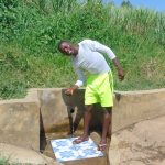 The Water Project: Burachu B Community, Maji Mazuri Spring -  Elias Masinde At The Spring
