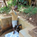 The Water Project: Musiachi Community, Thomas Spring -  Austine Amumbwe