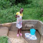The Water Project: Luvambo Community, Timona Spring -  Tabitha Sunguti
