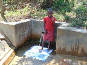 The Water Project:  Danstone Ochanji Gives Thumbs Up For Clean Water