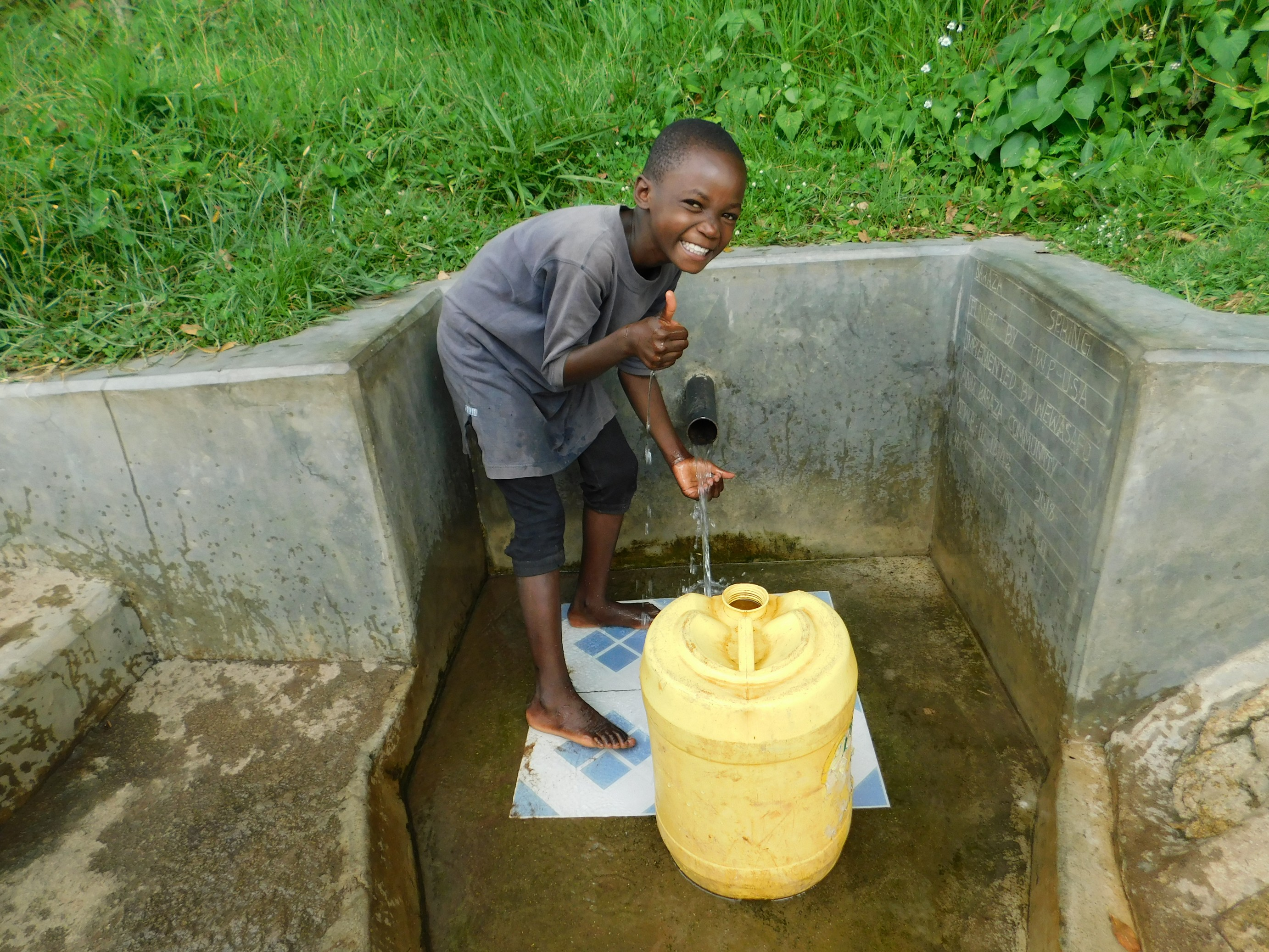 The Water Project : 1-kenya18142-veline-imbili-is-all-smiles