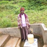 The Water Project: Emachembe Community, Hosea Spring -  Annet Mwenje