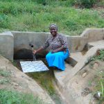 The Water Project: Emaka Community, Ateka Spring -  Mary Atuka Abdi