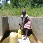 The Water Project: Shirugu Community, Shapaya Mavonga Spring -  Celestine Isaac