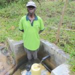 The Water Project: Ematetie Community, Chibusia Spring -  John Weku