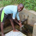 The Water Project: Shitoto Community, Mashirobe Spring -  Kelvin Opaka