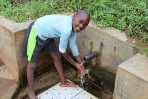 The Water Project:  Kelvin Opaka