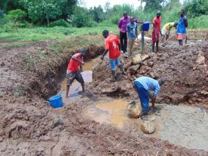 The Water Project:  Diverting Water And Laying The Foundation