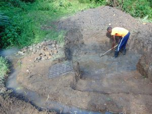 The Water Project:  Excavation And Diverting Water