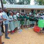 The Water Project: Lwanga Itulubini Primary School -  Handwashing Demonstration