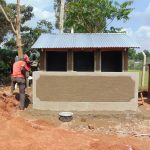 The Water Project: Magaka Primary School -  Latrines Nearly Complete