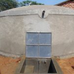 The Water Project: Lwanga Itulubini Primary School -  Completed Rain Tank