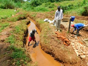 The Water Project:  Opening The Drainage Channels