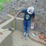 The Water Project: Buyangu Community, Osundwa Spring -  Pipe Measurements