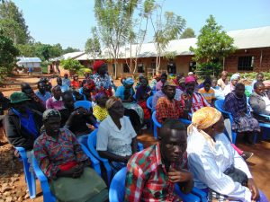 The Water Project:  Many Parents Attended Training