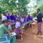 The Water Project: Magaka Primary School -  Student Training Begins