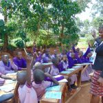 The Water Project: Magaka Primary School -  Student Participation